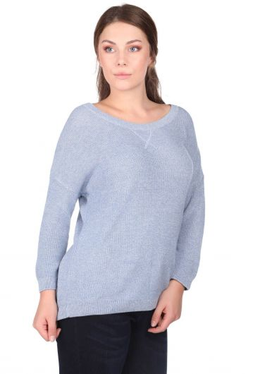 MARKAPIA WOMAN - Crew Neck Knitwear Women Sweater (1)
