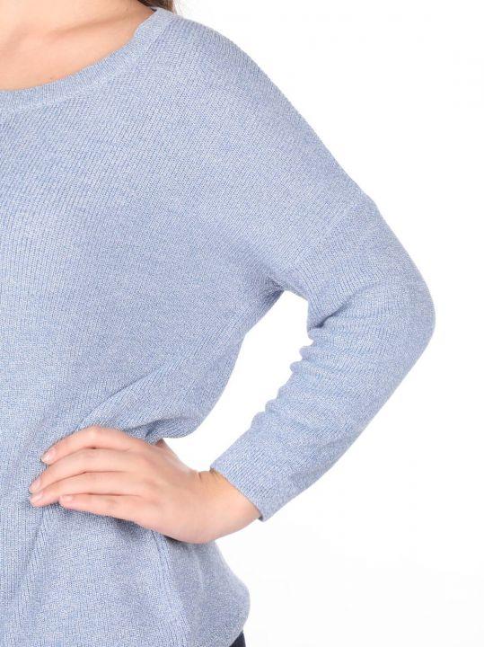Crew Neck Knitwear Women Sweater