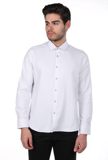 PHAZZ - قميص ماركابيا سادة للرجال (1)