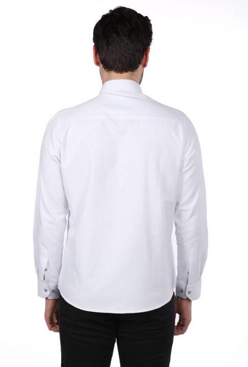 Markapia Erkek Düz Gömlek