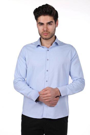 Markapia Erkek Düz Gömlek - Thumbnail