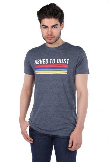 Erkek Jakob Renkli Baskılı T-Shirt - Thumbnail