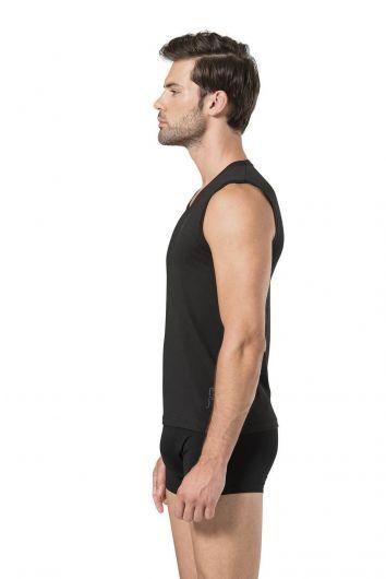 Pierre Cardin Erkek Kolsuz V Yaka T-Shirt - Thumbnail
