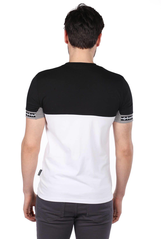 Erkek Status Baskılı T-Shirt