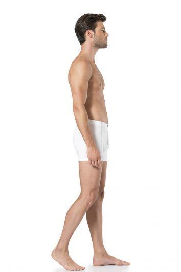 Pierre Cardin Erkek Penye Beyaz Boxer (2'Li) - Thumbnail
