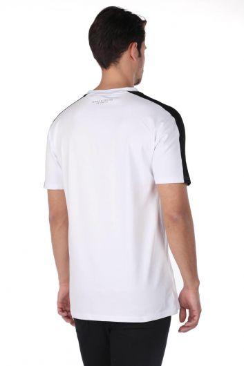 Erkek Baskılı T-Shirt - Thumbnail