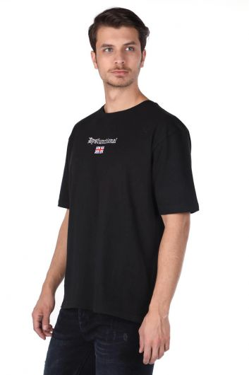 MARKAPIA - Erkek Bisiklet Yaka T-Shirt (1)