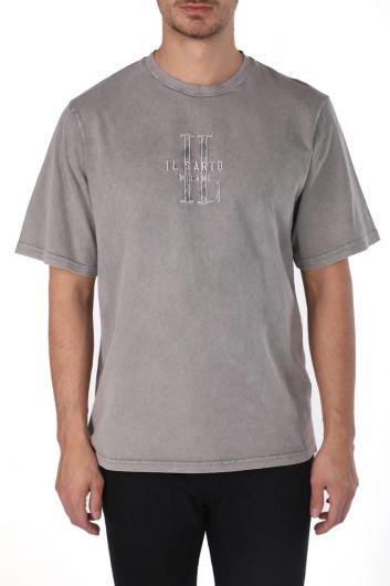 Erkek Bisiklet Yaka T-Shirt - Thumbnail