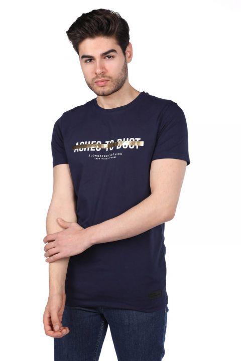 Erkek Regular Fit Bisiklet Yaka T-Shirt