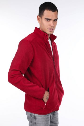 MARKAPIA MAN - Zippered Fleece Men's Cardigan (1)
