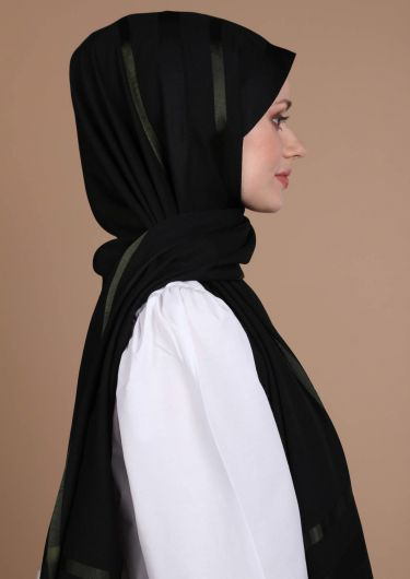 MİRAY - Flush Chiffon Shawl (1)