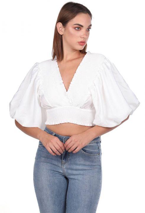 Блуза Gipeli с воздушными рукавами