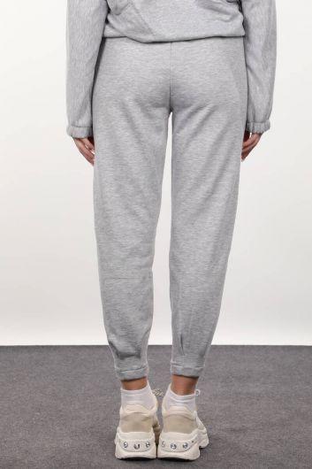 Women's Gray Trousers - Thumbnail