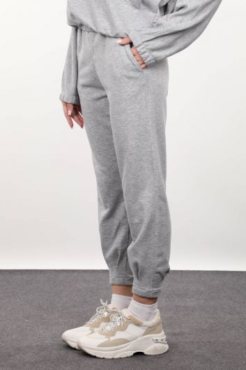 MARKAPIA WOMAN - Women's Gray Trousers (1)