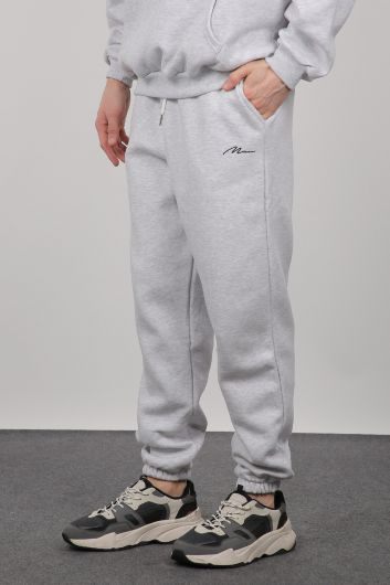 MARKAPIA - Серые спортивные штаны Мужские спортивные штаны (1)