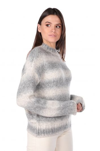 MARKAPIA WOMAN - Half Turtleneck Women's Knitwear Sweater (1)