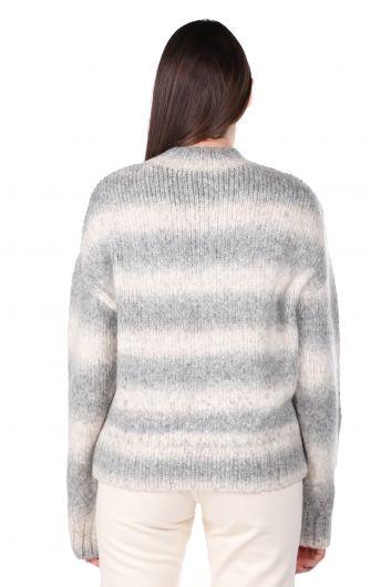 Half Turtleneck Women's Knitwear Sweater - Thumbnail