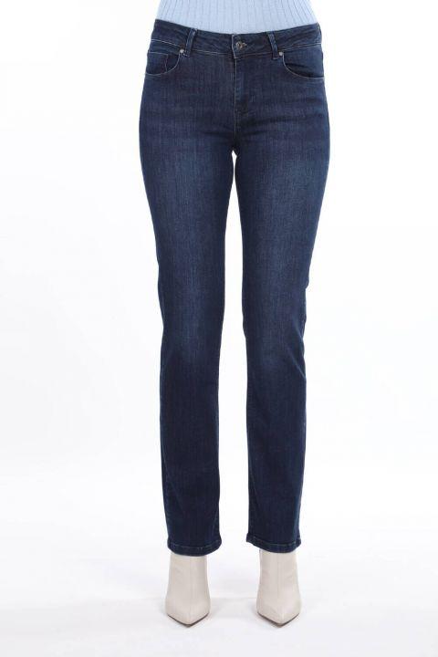 High Waist Boyfriend Jeans