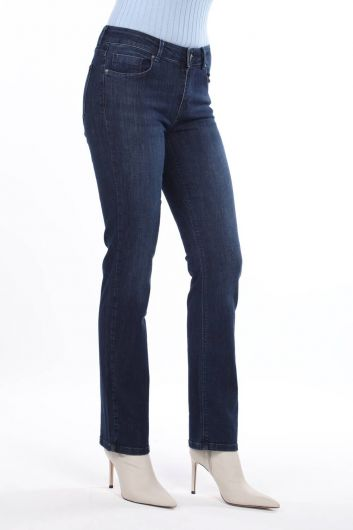 MARKAPİA WOMAN - High Waist Boyfriend Jeans (1)