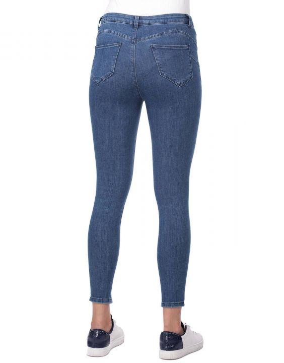 جينز بخصر مرتفع