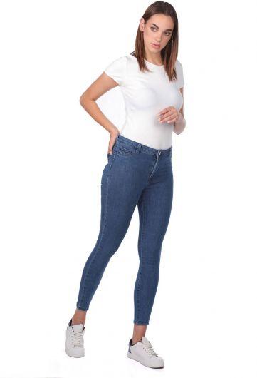 جينز بخصر مرتفع - Thumbnail