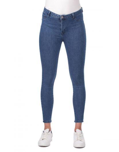 High Waist Jeans - Thumbnail