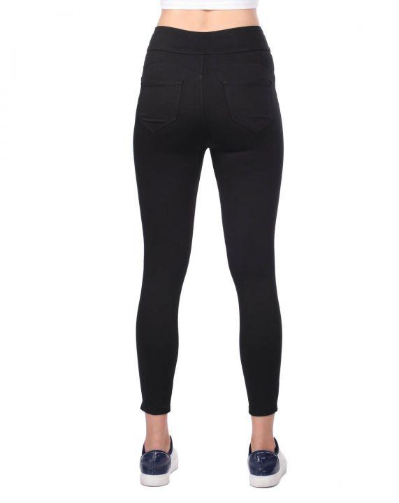 High Waist Skinny Black Jeans