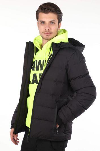 MARKAPIA MAN - معطف رجالي بغطاء للرأس (1)