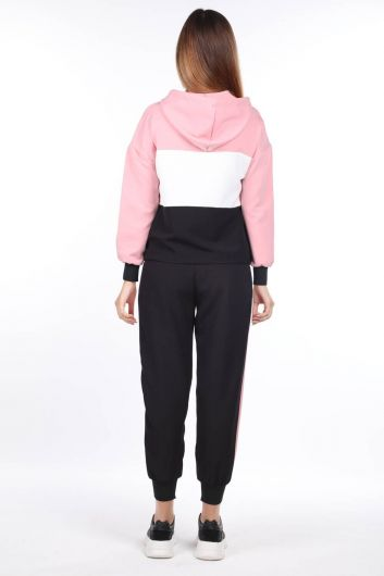 MARKAPIA WOMAN - Women's Hooded Elastic Track Suit (1)