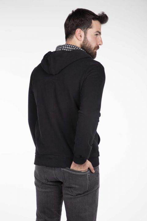 Men's Hooded Zipper Cardigan