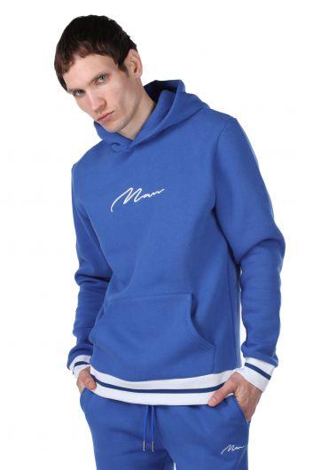 MARKAPIA MAN - Men's Hooded Sweatshirt with Inner Fleece (1)
