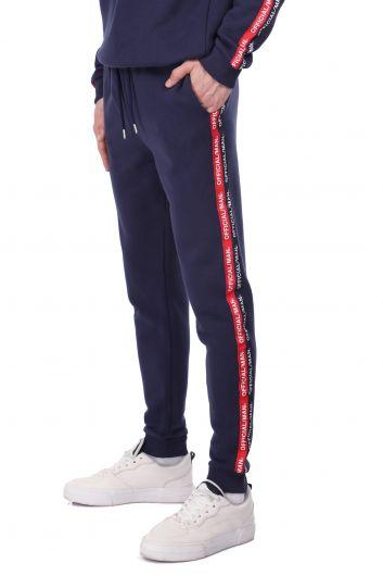 MARKAPIA MAN - Мужской спортивный костюм с флисом с внутренней стороны и эластичными полосками по бокам (1)