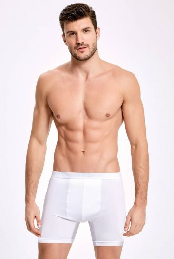 İLKE 005 LONG MALE BOXER WITH LYCRA 3 PIECES - Thumbnail