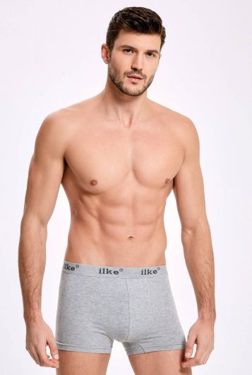 İLKE 007 MALE BOXER WITH LYCRA 10 PIECES - Thumbnail