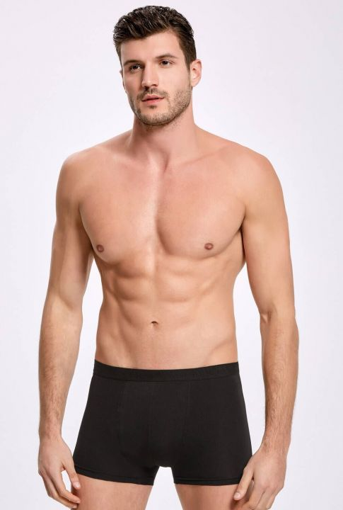 İLKE 007 MALE BOXER WITH LYCRA 10 PIECES