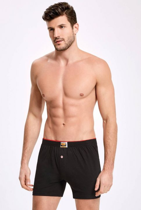 İLKE 011 FLAT TOWEL WAIST MALE BOXER 10 PIECES