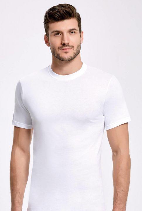 İlke Bisiklet Yaka Erkek T-Shirt