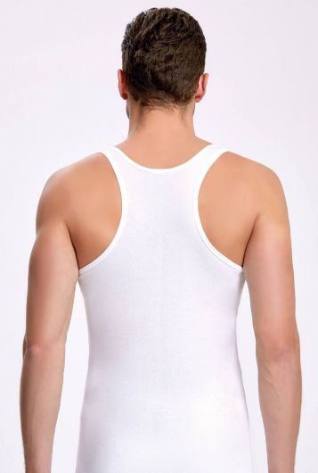 İLKE İÇ GİYİM - İLKE 1010 SPORTS WHITE MEN'S ATHLETES 3 PIECES (1)