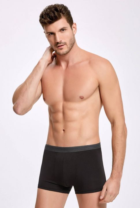 İLKE 1605 MALE BOXER MODAL LYCRA 5 PIECES