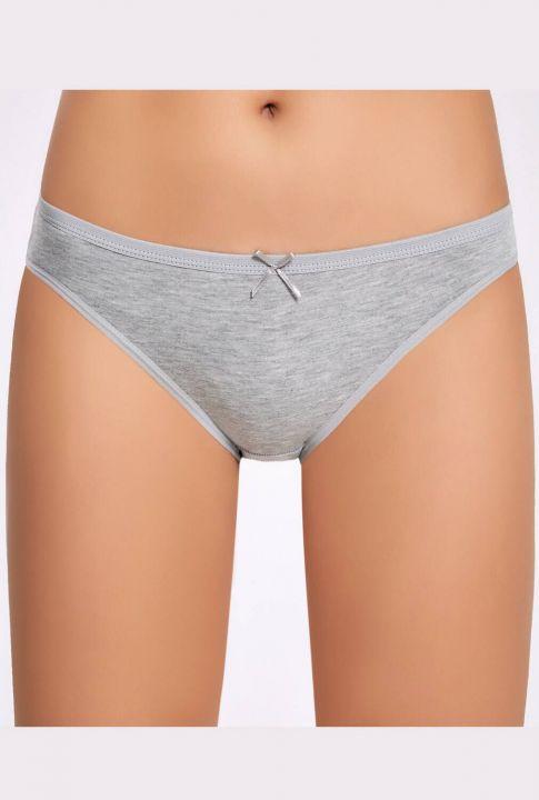 İlke Likralı Fiyonklu Kadın Bikini Külot 5 Adet