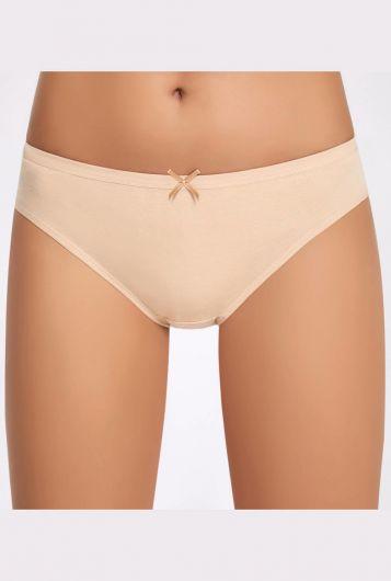 İlke Likralı Fiyonklu Bikini - Thumbnail