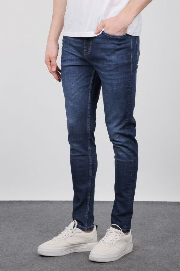Banny Jeans - بنطلون جان نيلي سليم صالح للرجال (1)