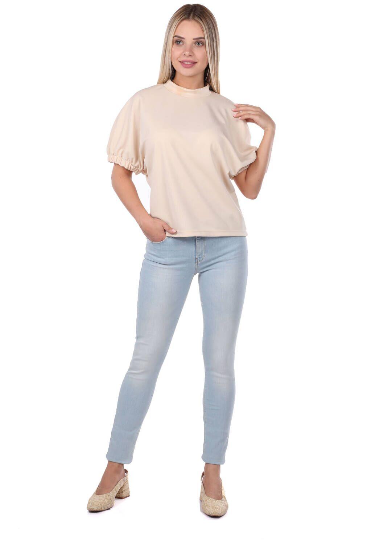 Kadın Açık Mavi Skinny Fit Jean Pantolon