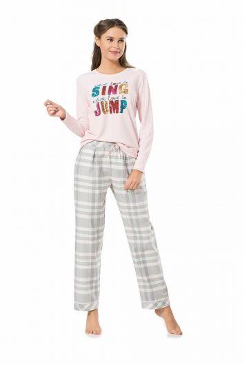 Kadın Pierre Cardin Pijama Takımı - Thumbnail