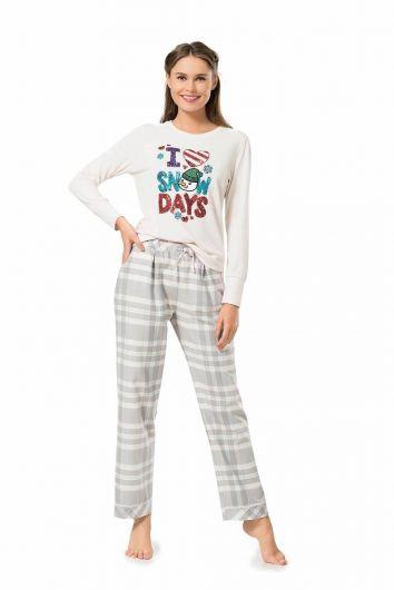 PİERRE CARDİN - Kadın Pierre Cardin Pijama Takımı (1)