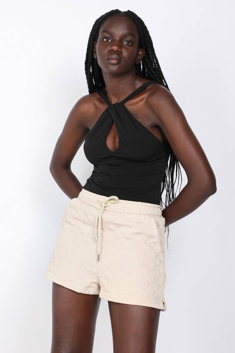 Kadın Siyah Çapraz Askılı Body