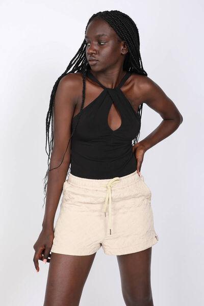 MARKAPIA WOMAN - Kadın Siyah Çapraz Askılı Body (1)