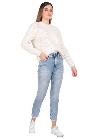 Kadın Skınny Fit Jean Pantolon - Thumbnail