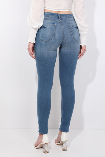 Kadın Skinny Fit Jean Pantolon - Thumbnail