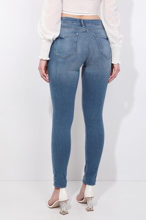 Kadın Skinny Fit Jean Pantolon